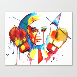 The Fight or Flight Response  Canvas Print