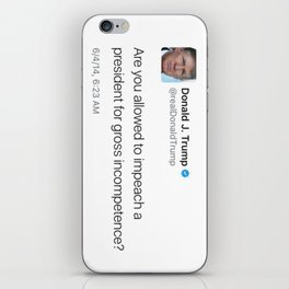 TrUGHmp iPhone Skin