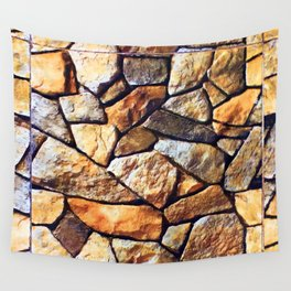 Eagle Moss Rocks Wall Tapestry