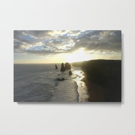 Dusk falls over the Great Southern Ocean Metal Print