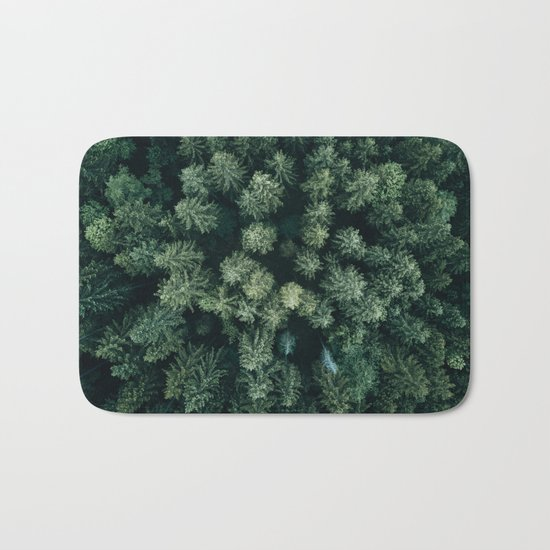 Forest from above - Landscape Photography Bath Mat