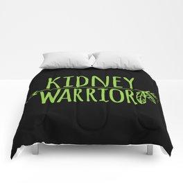 Kidney Warrior Comforters