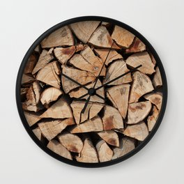 Stock for winter Wall Clock