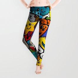 Colorful pattern Leggings
