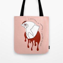 i could never be vegetarian: part i Tote Bag