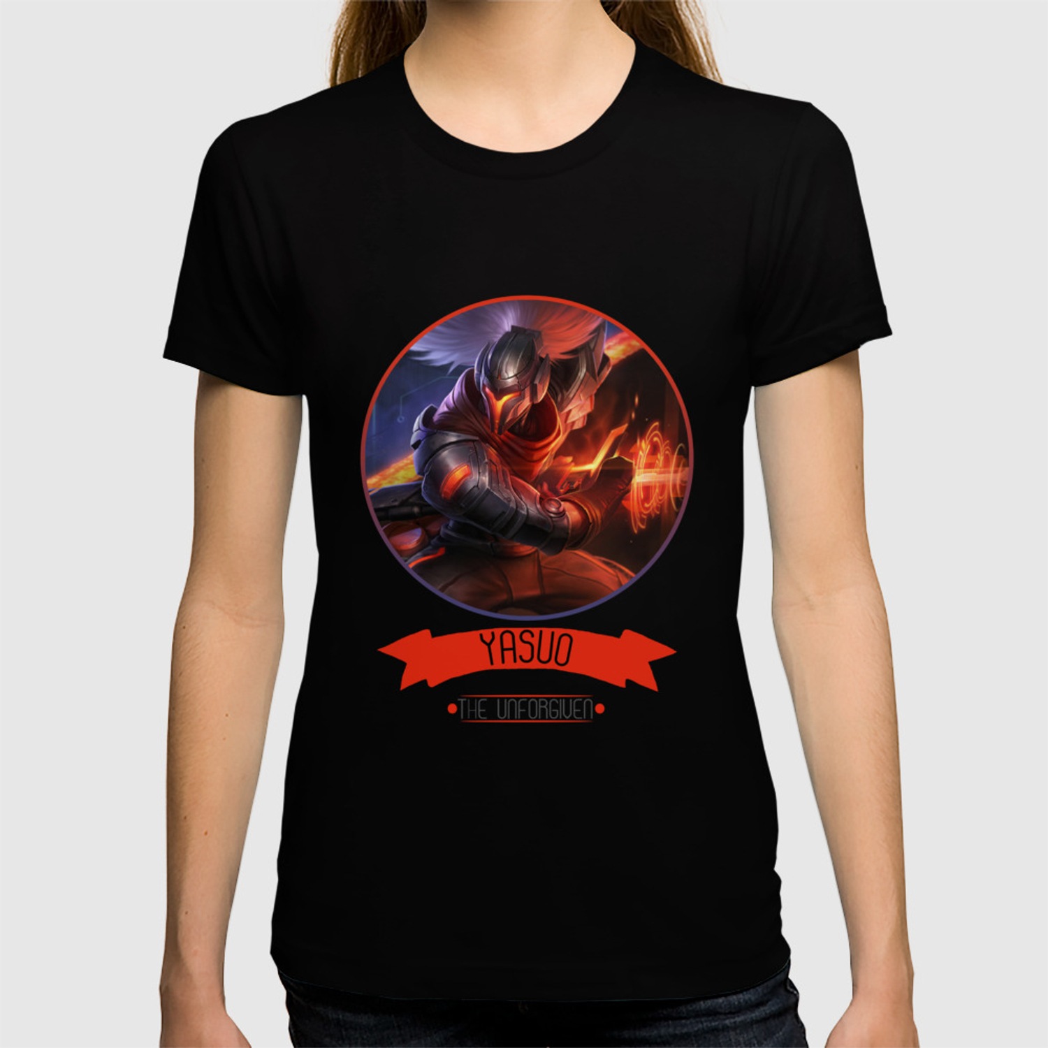 398de08c1 League Of Legends - Yasuo T-shirt by thedrawingduo | Society6