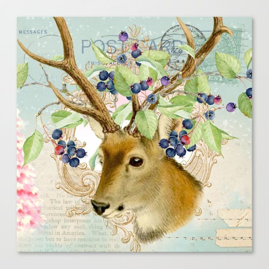 Winter animal #13 Canvas Print