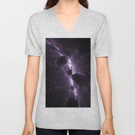 Quantum Worlds - 1 Unisex V-Neck