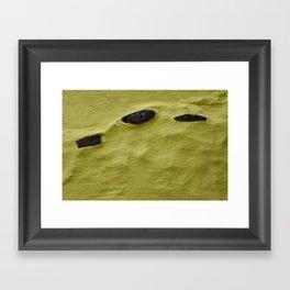 Wall Piece Framed Art Print