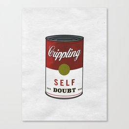 Crippling Self Doubt Canvas Print