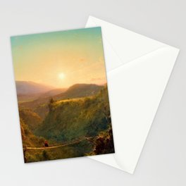 Pichincha - Frederic Edwin Church Stationery Cards
