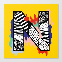 N for ... Canvas Print