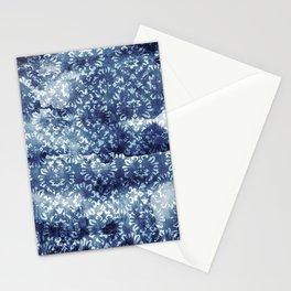 Indigo Batik Abstract Stationery Cards
