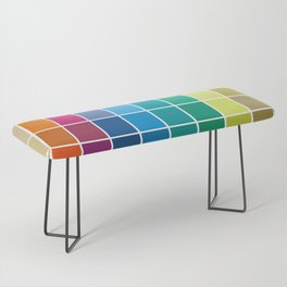 Colorful Soul - All colors together Bench