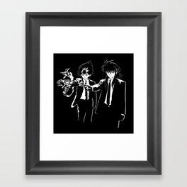 Demon Fiction Framed Art Print