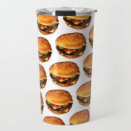 Cheeseburger Pattern 2 Travel Mug
