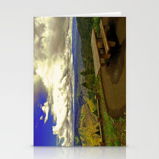 Table with a View Stationery Cards