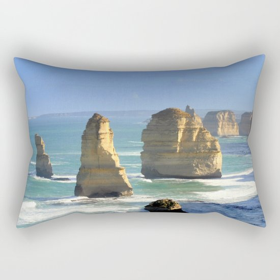 Rock Formations Rectangular Pillow