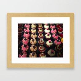 Les Macarons D'Amour Framed Art Print