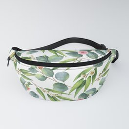 Bamboo and eucaliptus pattern Fanny Pack