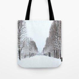 Tree avenue,Paris Tote Bag