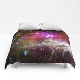 NGC 281 nebula with active star formation (NASA/Chandra) Comforters