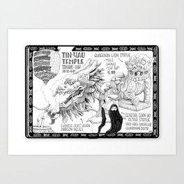 Dragons, Lions And Generals Art Print