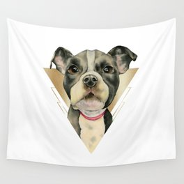Puppy Eyes 4 Wall Tapestry