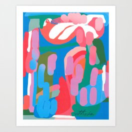 Pollination of Purpose Art Print