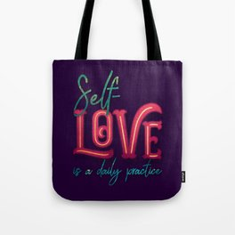 Kelly-Ann Maddox Collection :: Self-Love (Simple) Tote Bag