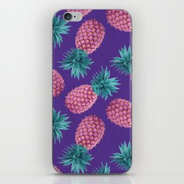 Colorful pineapples iPhone Skin