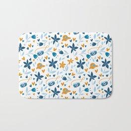 summertime pattern Bath Mat