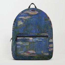 WATER LILIES - CLAUDE MONET Backpack