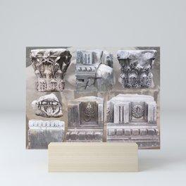 Rome Rubble Mini Art Print
