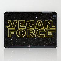 vegan iPad Cases featuring Vegan Force by Spyck