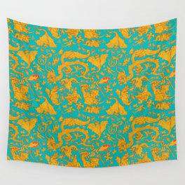 Dragon Paper Wall Tapestry