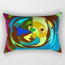 Maze Man Rectangular Pillow