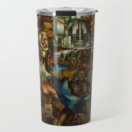 The Contribution of the Negro to Democracy in America, 1943 - Charles Wilbert White Travel Mug