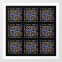 Stained Glass Window Tiles by raywarrenphoto