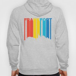 Retro 1970's Style Frankfort Kentucky Skyline Hoody