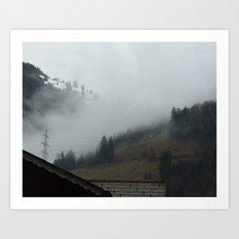Swiss Fog Art Print