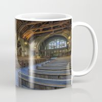 christ Mugs featuring Christ Church by Ian Mitchell