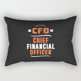 CFO - Chief Financial Officer Rectangular Pillow