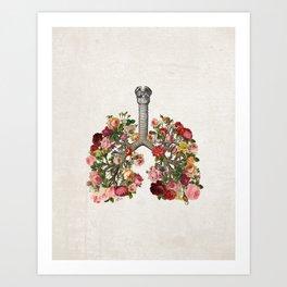 L&R II Art Print