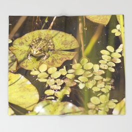 frogger... Throw Blanket