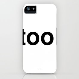 tool iPhone Case