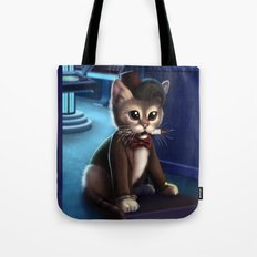 Doctor Who Cat Tote Bag