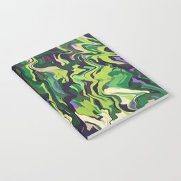 Abstract Music green Out of the Woods nature Notebook