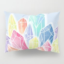 Crystals Blue Pillow Sham