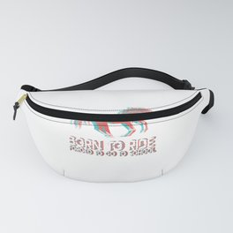 Funny Horse Horse Rider Riding Gift Fanny Pack